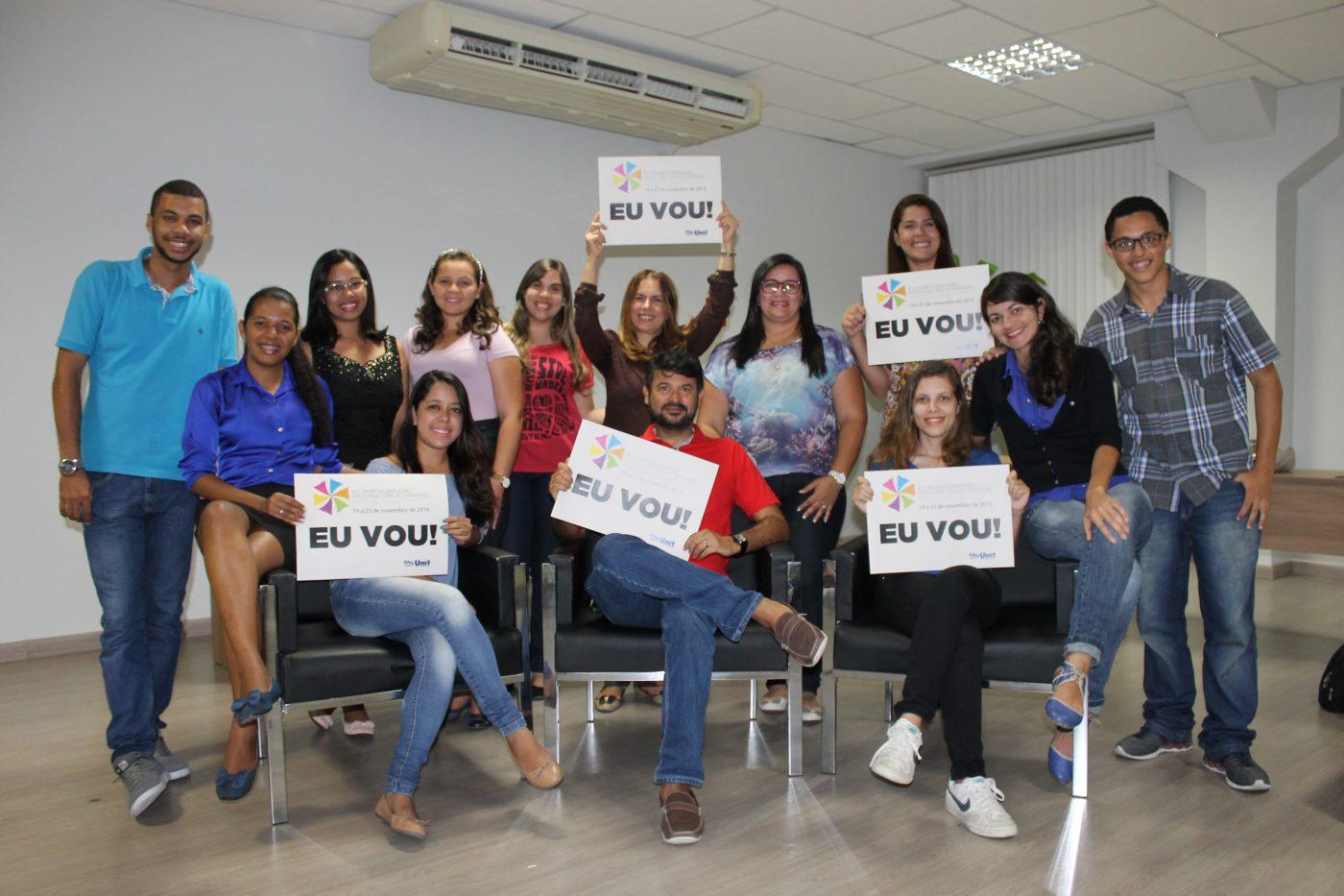 Professor Rocha e seus alunos