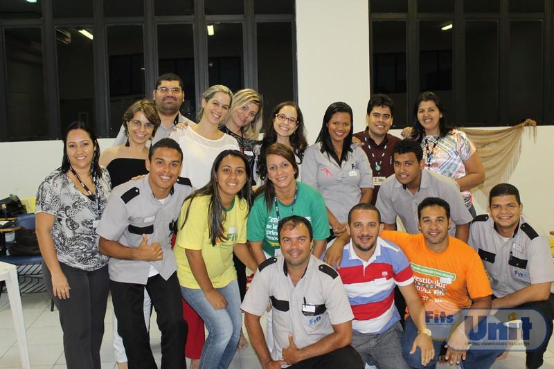 Colaboradores participantes da Oficina