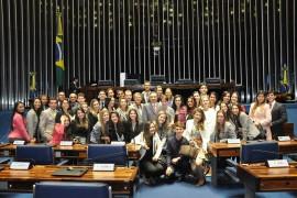 Alunos realizam viagem à Brasília