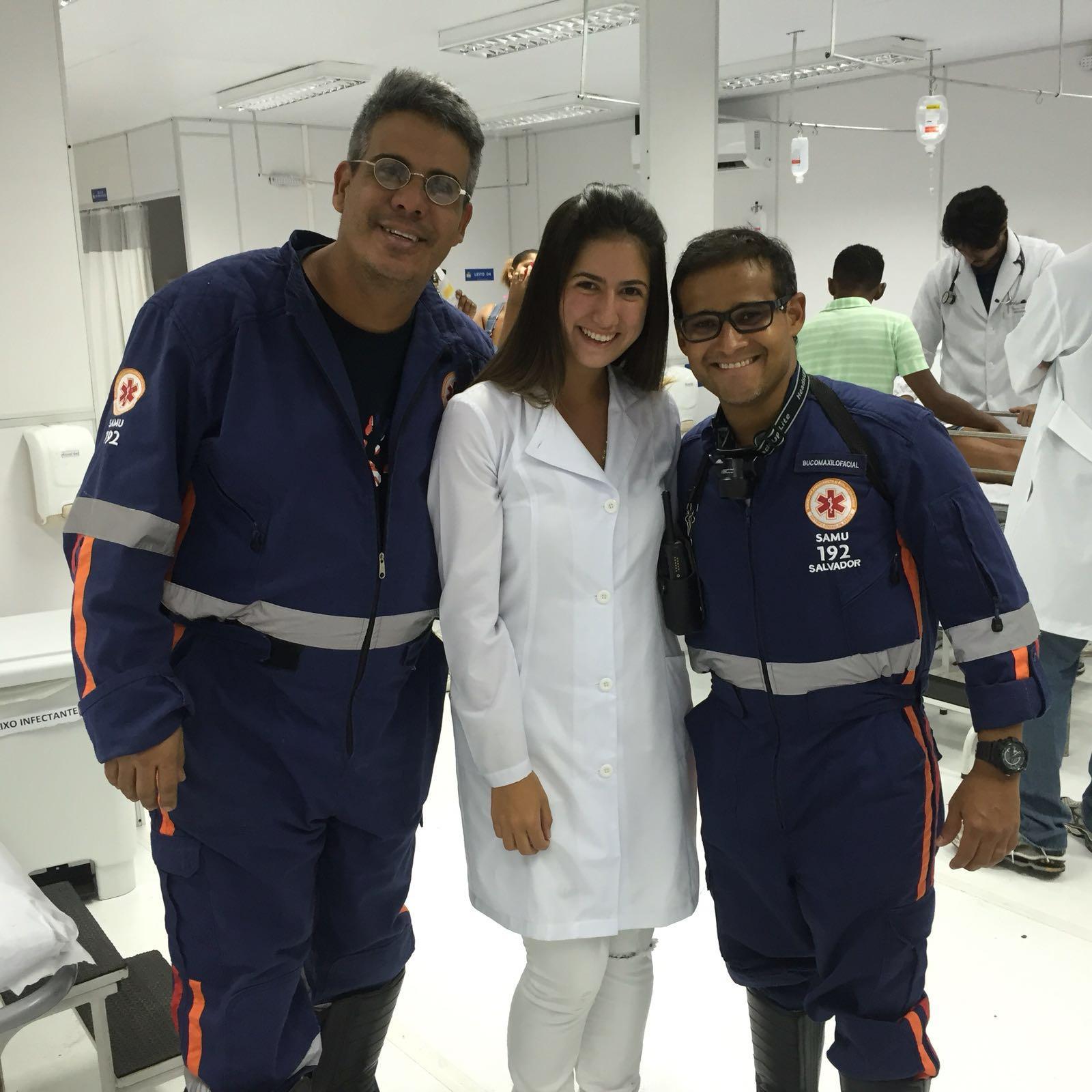 Aluna de Odontologia integra equipe da SAMU no Carnaval de Salvador