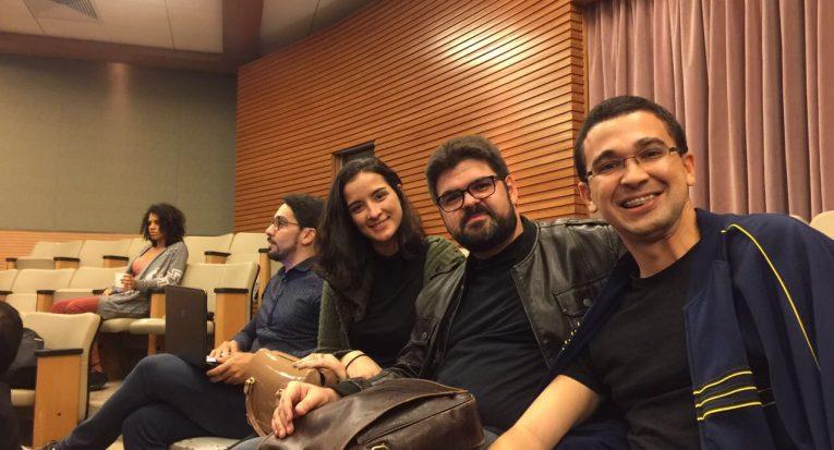 Roberto Barbosa e Thayná Lobato participam de evento na USP