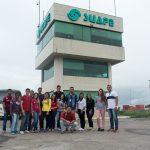 Alunos fazem visita técnica ao Porto de Suape
