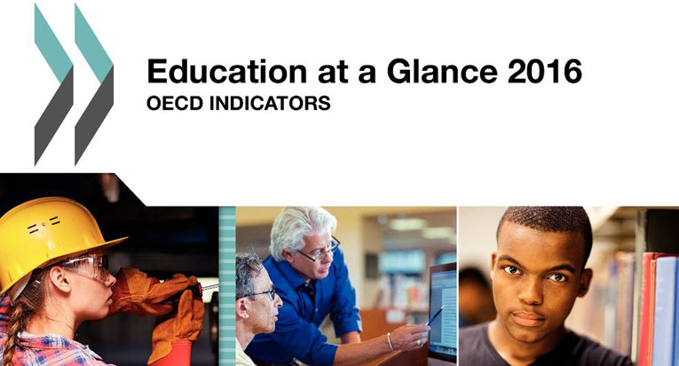 Capa do Relatório Education at a Glance 2016