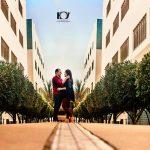 Ex-alunos fazem ensaio de pré-casamento no campus