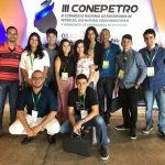 Estudantes de Engenharia de Petróleo marcam presença no III CONEPETRO