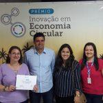 Professora Doutora recebe Prêmio Inovação em Economia Circular