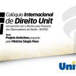 Participe do Colóquio Internacional de Direito UNIT