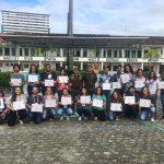 Estudantes de Jornalismo participaram de treinamento para atuar em zona de conflito