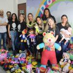 Pós-Graduação em Perícia Criminal e Ciências Forenses realiza doação de brinquedos para o Naps do IML