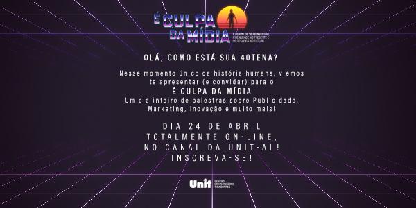 Evento será virtual e gratuito
