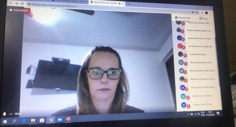 Ana Luiza Exel, coordenadora dos cursos de Biomedicina e Fisioterapia da Unit