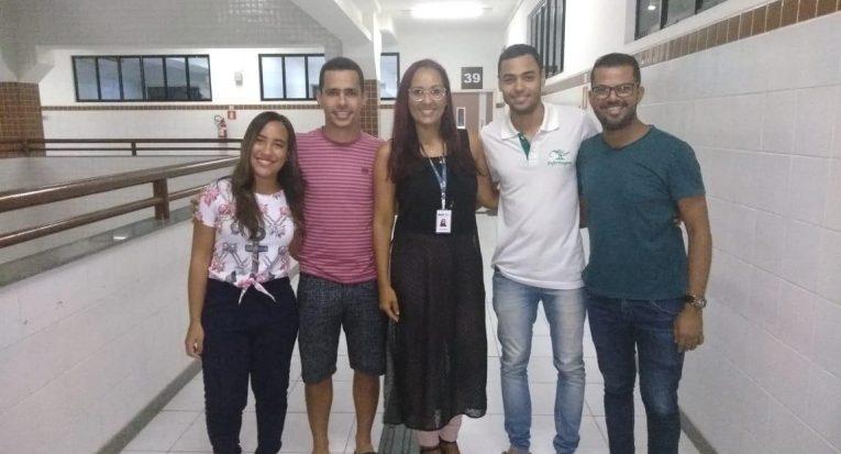 Grupo de alunos que desenvolveram o artigo científico