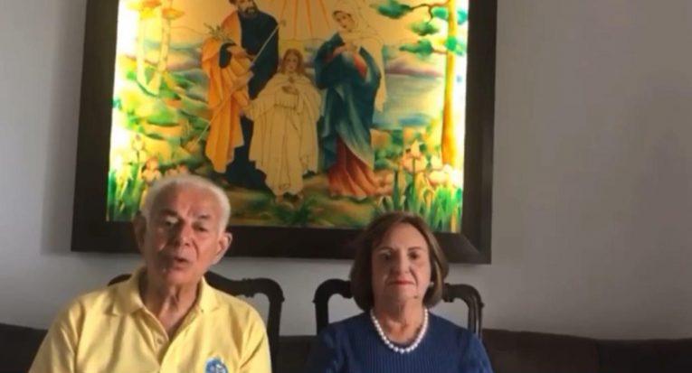 Fundadores do Grupo Tiradentes transmitem mensagem durante missa de ação de graças