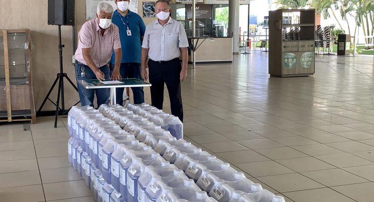 Doação para Secretaria Municipal de Saúde de Maceió