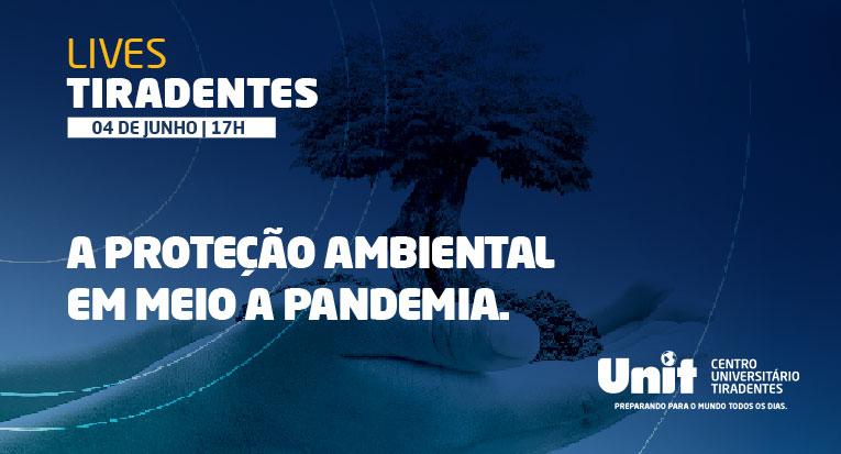 Live terá como convidado o ambientalista Fábio Palmeira