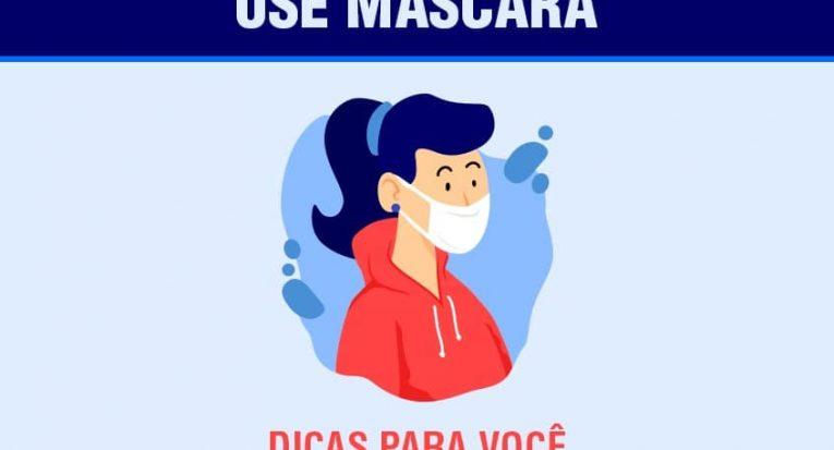 Confira as dicas de como usar adequadamente as máscaras de proteção