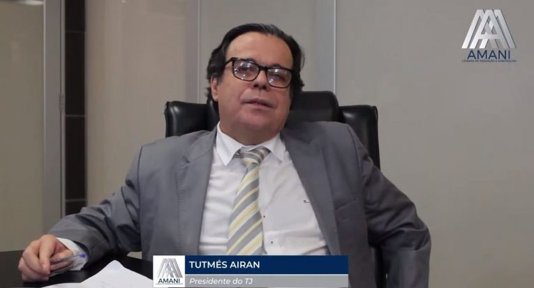 Tutmés Airan, presidente do TJ/AL