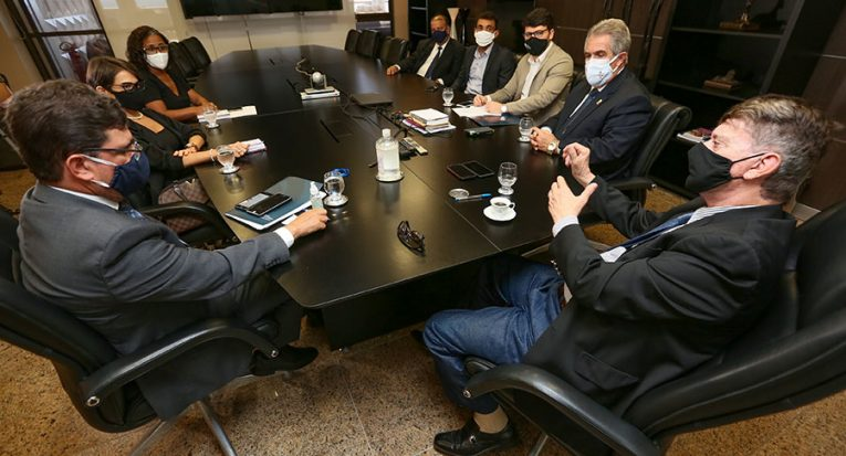 Reunião com representantes do TJ/AL e Unit