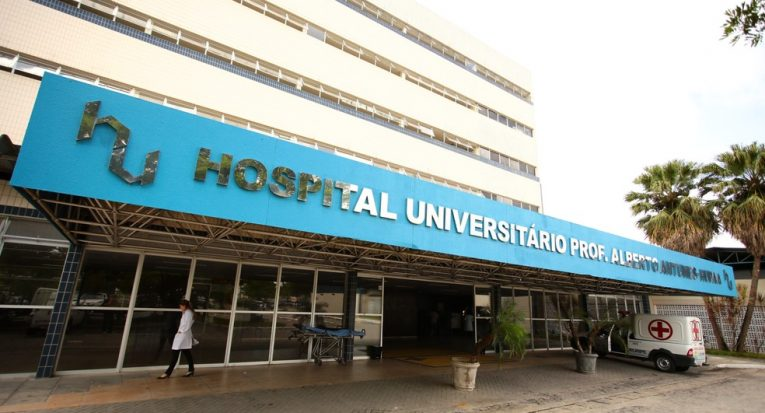 Hospital que o egresso Allef fará residência médica