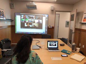 """A disciplina """"Pesquisa em Educação"""", do PPED com a UMass Boston, tem aulas virtuais ao vivo"""