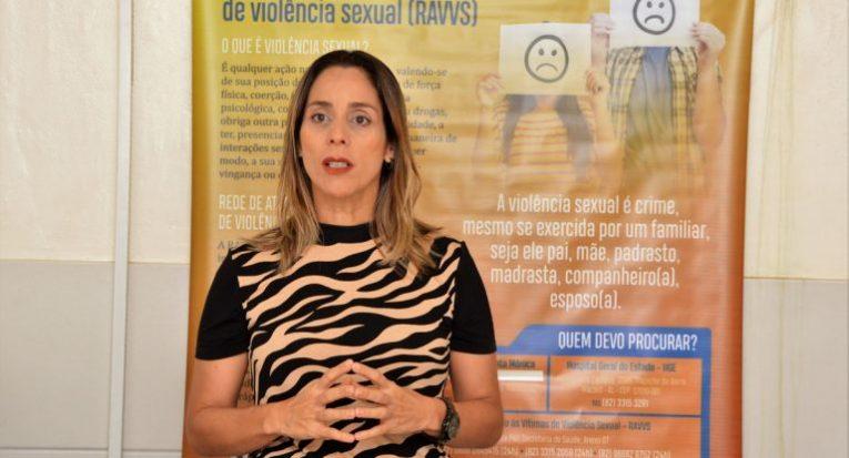 A professora Camille Cavalcanti Wanderley, do curso de Psicologia da Unit Alagoas (Carla Cleto/Agência Alagoas)