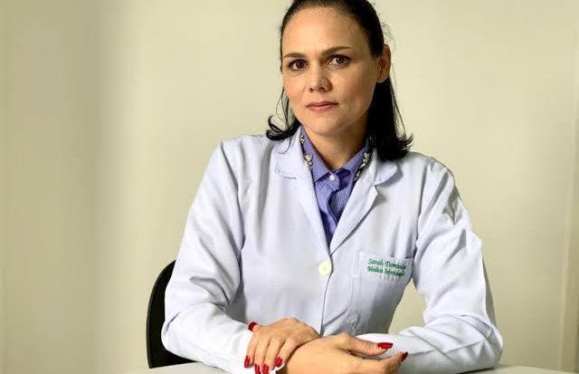 A infectologista Sarah Dominique Dellabianca, professora do curso de Medicina da Unit Alagoas