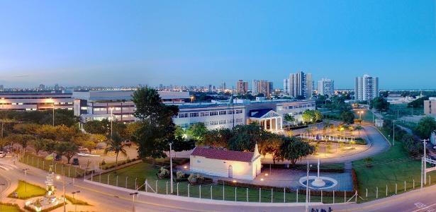 Campus-sede da Universidade Tiradentes (Unit SE), em Aracaju