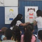 Projeto 'Proteção Integral' realizou intervenção com o Instituto Servir e Doe Amor